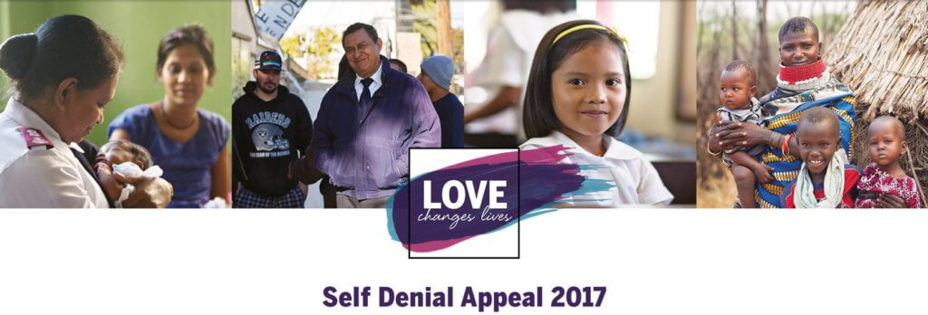 Salvation Army Self Denial Appeal 2017 Logo