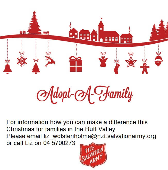 adopt a family for christmas 2017